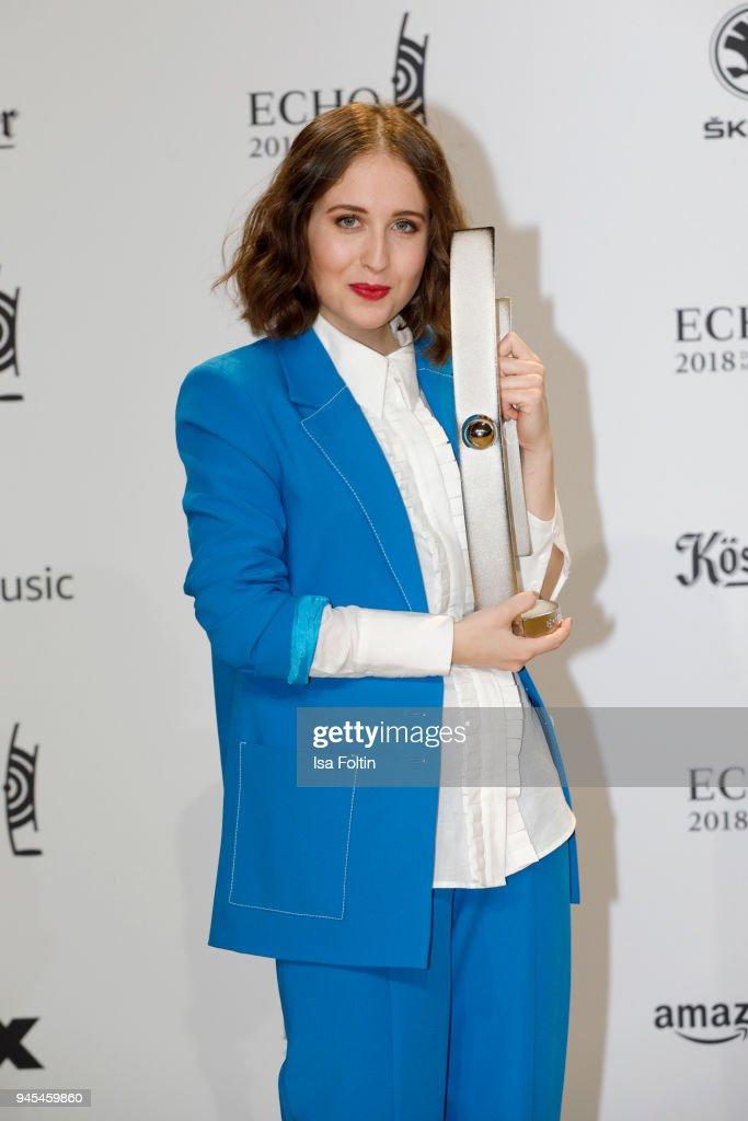 Echo Award 2018 - Winners Board : News Photo
