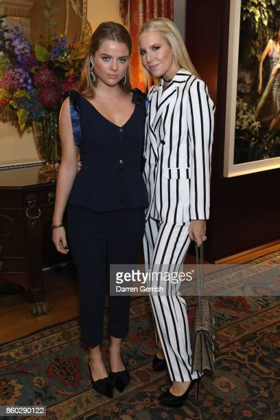 Alice Naylor Leyland and Bea Fresson attend Giampiero Bodino's 'Beauty Is My Favourite Colour' cocktails and dinner evening at Spencer House on...