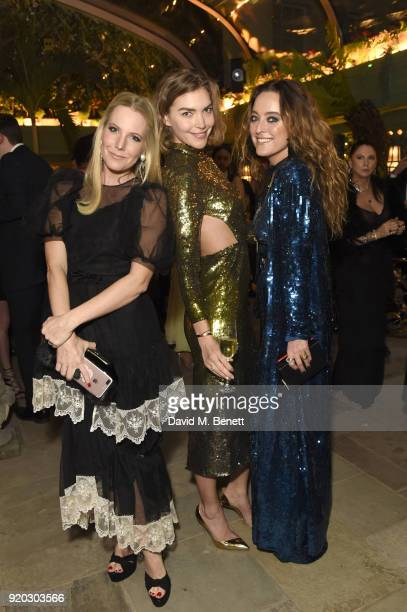 Alice NaylorLeyland Arizona Muse and Alice Temperley attend as Tiffany Co partners with British Vogue Edward Enninful Steve McQueen Kate Moss and...
