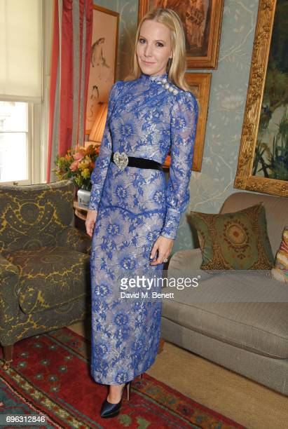 Alice NaylorLeyland attends an intimate dinner which she hosted for friends to celebrate her Garden Rose Cologne collaboration with Aerin Lauder for...