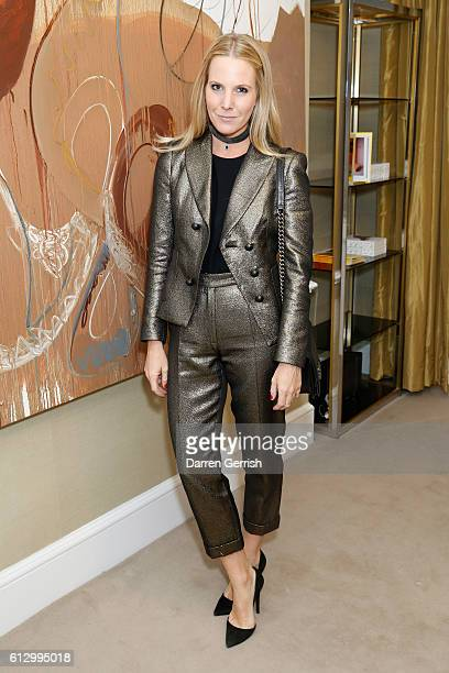 Alice NaylorLeyland attends Peter Piloto Francis Upritchard in partnership with American Express at MATCHESFASHIONCOM on October 6 2016 in London...