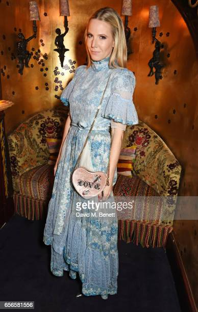 Alice NaylorLeyland attends the Edie Campbell and Kurt Geiger Flash dinner at Loulou's on March 22 2017 in London England