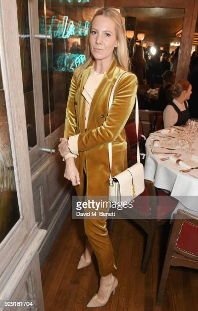Alice NaylorLeyland attends the Harper's Bazaar lunch to celebrate International Women's Day at 34 Mayfair on March 8 2018 in London England