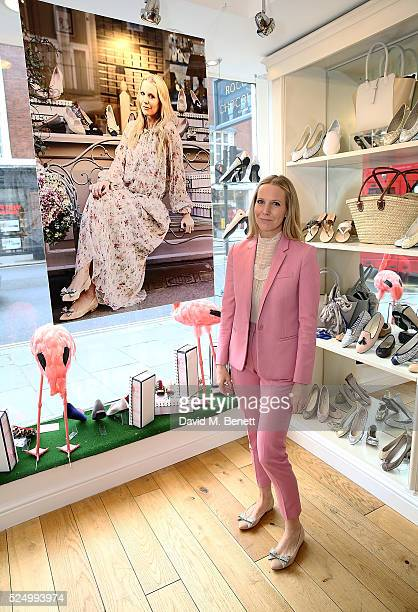 Alice NaylorLeyland attends the launch of Alice NaylorLeyland's new children's shoe collection with French Sole on April 27 2016 in London England