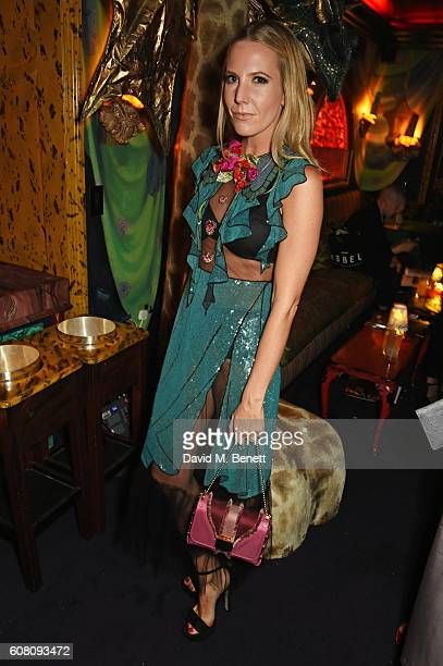 Alice NaylorLeyland attends the LOVE Magazine and Marc Jacobs LFW Party to celebrate LOVE 165 collector's issue of LOVE and Berlin 1989 at Loulou's...