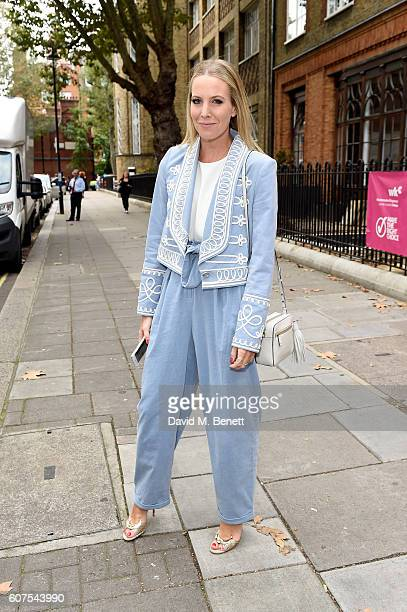 Alice NaylorLeyland attends the Temperley London show at London Fashion Week Spring/Summer collections 2017 at The Lindley Hall on September 18 2016...