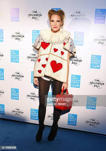 Alice NaylorLeyland attends the Unicef UK Halloween Ball raising vital funds to support Unicef's lifesaving work for Syrian children in danger at One...