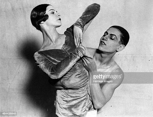 Alice Nikitina and Serge Lifar Russian ballet dancers 1924 Nikitina and Lifar in the Ballets Russes production of 'Les Biches' by Francis Poulenc...