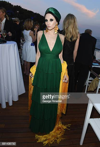 Alice + Olivia CEO & Creative Director Stacey Bendet attends Vanity Fair and HBO Dinner Celebrating the Cannes Film Festival at Hotel du Cap-Eden-Roc...