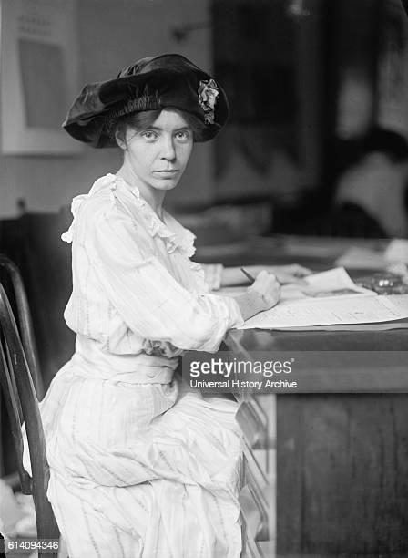 Alice Paul American Suffragist Feminist and Women's Rights Activist Portrait circa 1915