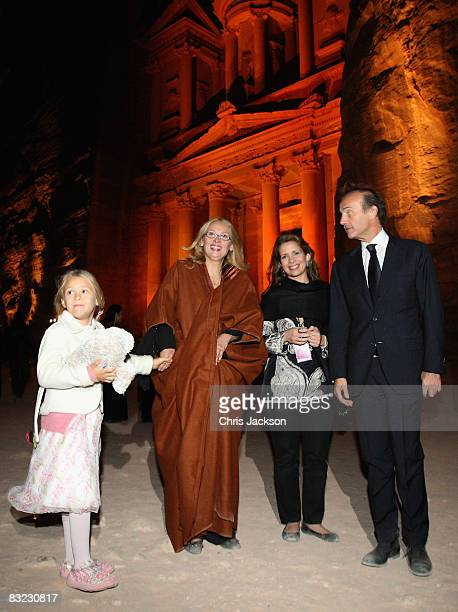 Alice Pavarotti Nicoletta Pavarotti and Princess Haya Bint alHussein of Jordan attend a Memorial service to celebrate the life of the opera singer...