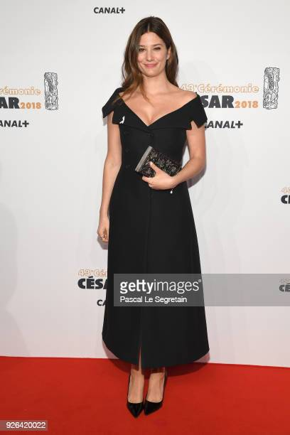 Alice Pol arrives at the Cesar Film Awards 2018 at Salle Pleyel on March 2 2018 in Paris France