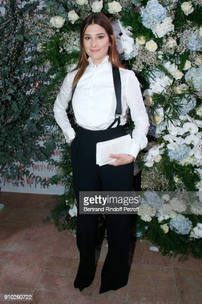 Alice Pol dressed in Ralph Lauren attends the 16th Sidaction as part of Paris Fashion Week on January 25 2018 in Paris France