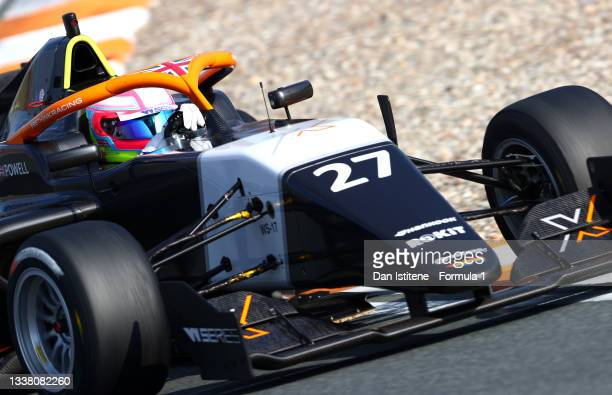 Alice Powell of Great Britain and Racing X drives during qualifying ahead of W Series Round 6 at Circuit Zandvoort on September 03, 2021 in...