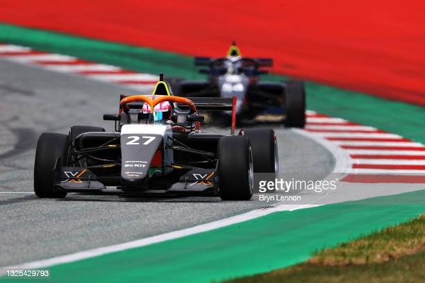 Alice Powell of Great Britain drives on track during qualifying ahead of W Series Round 1 at Red Bull Ring on June 25, 2021 in Spielberg, Austria.