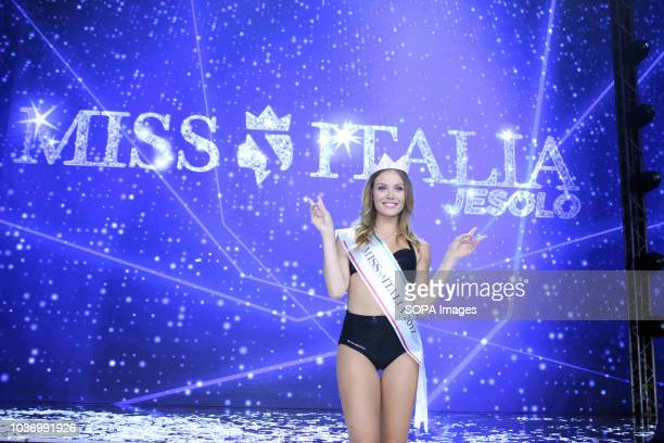 ARREX JESOLO VENEZIA ITALY Alice Rachele Arlanch Miss Italy 2017 seen after being nominated Rachele Arlanch has named Miss Italia 2017 The 22 year...