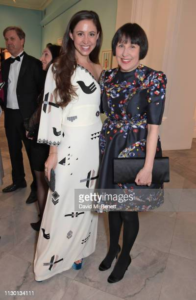 Alice Rawsthorn attends The Portrait Gala 2019 hosted by Dr Nicholas Cullinan and Edward Enninful to raise funds for the National Portrait Gallery's...