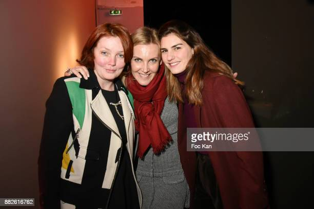 Alice Ricard Garance Primat and Irina Rasquinet attend Nektart Wine Party at Palais de Tokyo Art Club on November 29 2017 in Paris France