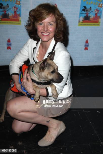 Alice Ripley and attend BROADWAY BARKS 11 a PAWPULAR Star Studded Dog and Cat Adopta Thon at Shubert Alley on July 11 2009 in New York City