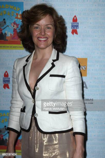 Alice Ripley attends BROADWAY BARKS 11 a PAWPULAR Star Studded Dog and Cat Adopta Thon at Shubert Alley on July 11 2009 in New York City