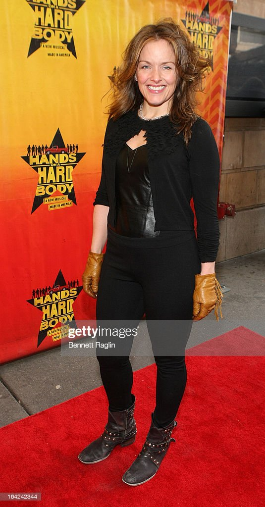Alice Ripley attends 'Hands On A Hard Body' Broadway Opening Night at The Brooks Atkinson Theatre on March 21, 2013 in New York City.