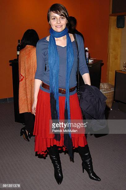 Alice Ritter attends IMAJINE 2005 Japan Society Arts Culture Gala Benefit launching 'Little Boy The Arts of Japan's Exploding Subculture' an art...