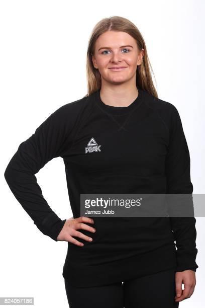 Alice Robinson poses during a New Zealand PyeongChang Olympic Winter Games Workshop at Lake Wanaka Centre on July 19 2017 in Wanaka New Zealand