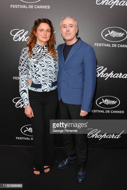 Alice Rohrwacher and Robin Campillo attend the The Chopard Trophy event during the 72nd annual Cannes Film Festival on May 20 2019 in Cannes France