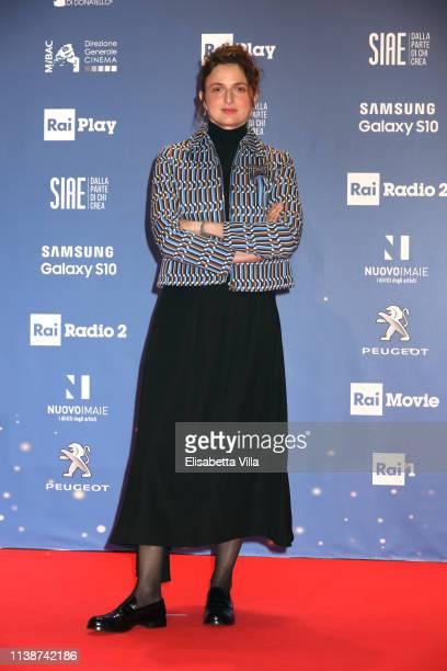Alice Rohrwacher attends the 64 David Di Donatello awards on March 27 2019 in Rome Italy