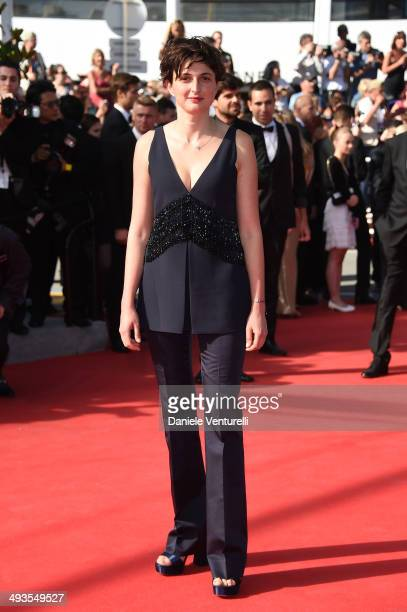 Alice Rohrwacher attends the Closing Ceremony and 'A Fistful of Dollars' Screening during the 67th Annual Cannes Film Festival on May 24 2014 in...