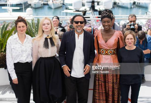 Alice Rohrwacher Elle Fanning President of the Main competition jury Alejandro Gonzalez Inarritu Jury members Maimouna N'Diaye and Kelly Reichardt...