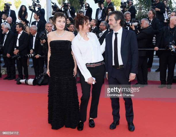 Alice Rohrwacher Nicoletta Brasch and Carlo CrestoDina attends the screening of The Man Who Killed Don Quixote and the Closing Ceremony during the...