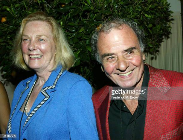 Alice Romano and actor Massimo Sarchielli attend the after party for the film premiere of Under The Tuscan Sun at the Roosevelt Hotel on September 20...