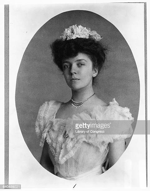 Alice Roosevelt Longworth in Gown