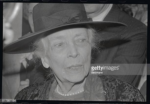 Alice Roosevelt Longworth is shown here at ribbon cutting ceremonies at the New Embassy Row Hotel 2015 Massachusetts Avenue Northwest