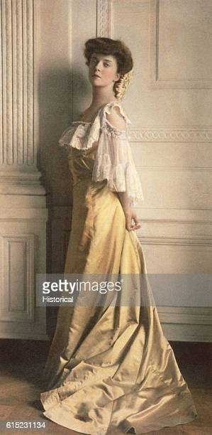 Alice Roosevelt the daughter of US President Theodore Roosevelt