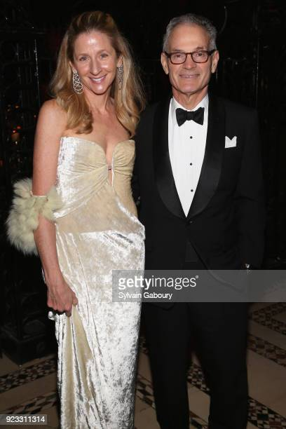 Alice Ross and James Ross attend Museum of the City of New York Winter Ball on February 22 2018 in New York City
