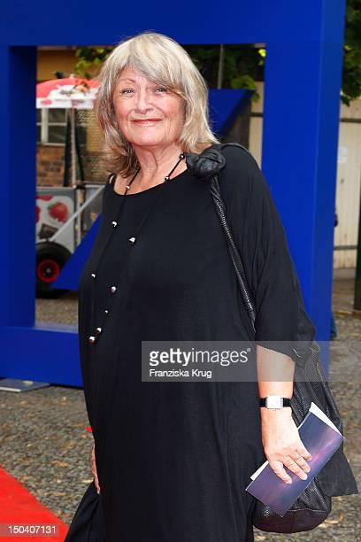 Alice Schwarzer attends the 'Seefestspiele' Open With Carmen in the Wannseebad on August 16 2012 in Berlin Germany