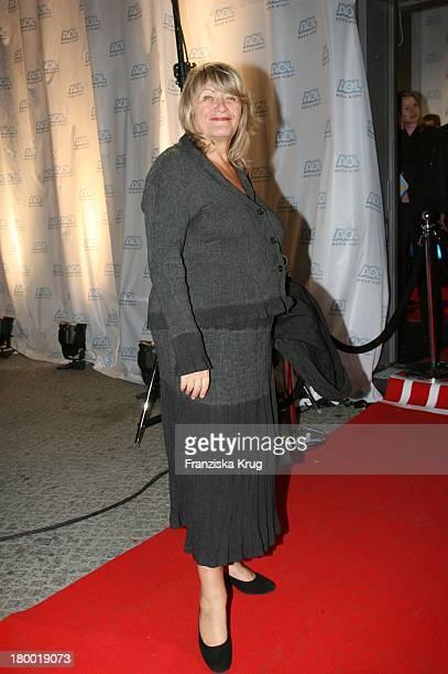Alice Schwarzer Bei Der Aol Media Night Im Rahmen Der Ifa Im Restaurant Felix In Berlin