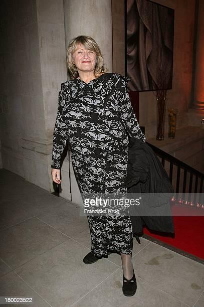 Alice Schwarzer Beim Christiansen Jahresempfang Im Hotel De Rome In Berlin