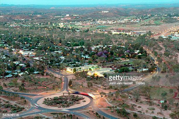 Alice Springs is situated in the centre of Australia in the desert This remote town of 27000 people of which 20% are of aboriginal descent is an...