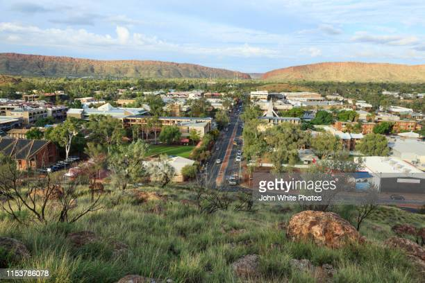 alice springs. northern territory. australia. - alice springs stock pictures, royalty-free photos & images