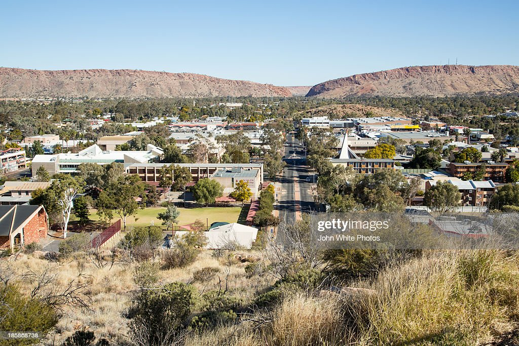 Alice Springs In The Northern Territory Australia