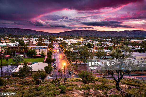 alice springs - alice springs stock pictures, royalty-free photos & images