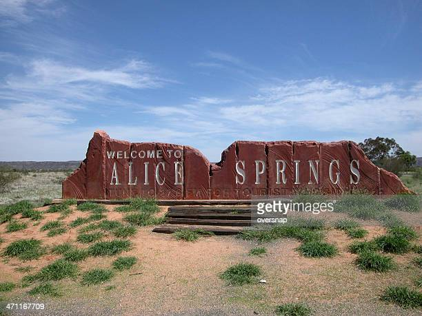 Alice Springs sign