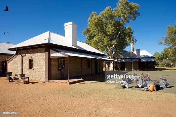 Alice Springs Telegraph Station Historical Reserve.