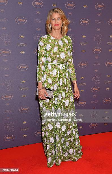 Alice Taglioni arrives at the Opening Gala Dinner during the 69th Annual Cannes Film Festival on May 11 2016 in Cannes France