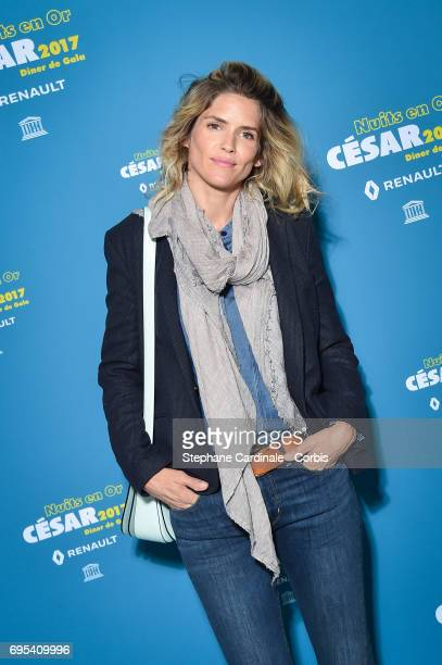 Alice Taglioni attends 'Les Nuits en Or 2017' Dinner Gala at Unesco on June 12 2017 in Paris France