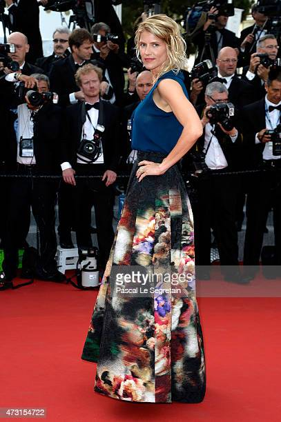 Alice Taglioni attends the opening ceremony and premiere of La Tete Haute during the 68th annual Cannes Film Festival on May 13 2015 in Cannes France