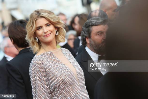 Alice Taglioni attends the Opening ceremony and the Grace of Monaco Premiere during the 67th Annual Cannes Film Festival on May 14 2014 in Cannes...